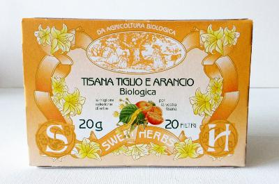 Tisane BIO tilleul et orange