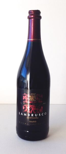 Lambrusco dell'Emilia amabile 75 cl