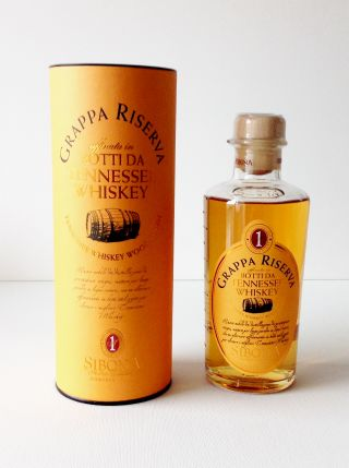Grappa affinée fûts de Tennessee Whiskey 50 cl