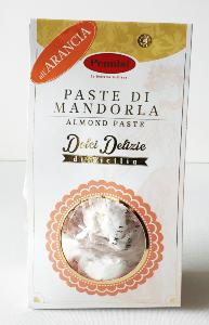 Biscuits siciliens pâte d'amande/orange 250 gr