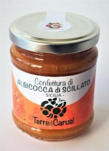 Confiture d'abricot Scillato Slow Food 220 gr