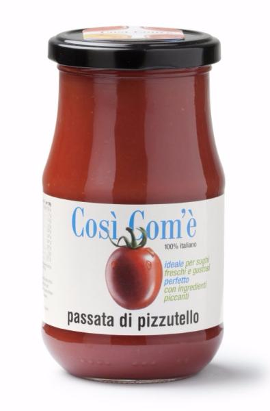 Passata de tomate rouge Pizzutello 350 gr