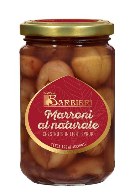 Marrons entiers au naturel 320 gr