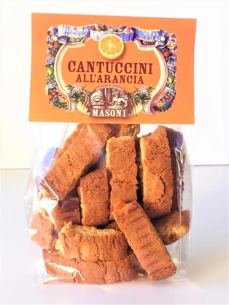 Cantuccini à l'orange 250 gr