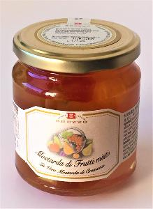 Mostarda de fruits confits mixtes 380 gr