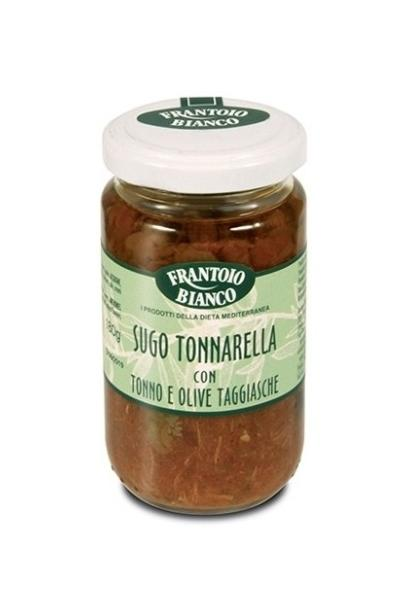 Sauce tomate thon et olives taggiasche 180 gr