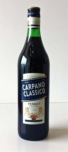 Vermouth rouge Carpano Classico 1 litre