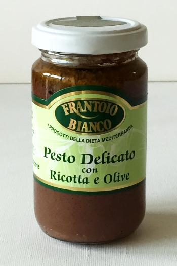 Pesto olives/ricotta 180 gr