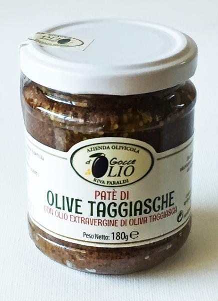 Tapenade d'olives Taggiasche 180 gr