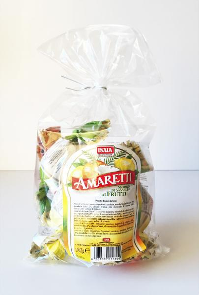 Amaretti di Sassello aux fruits 180 gr