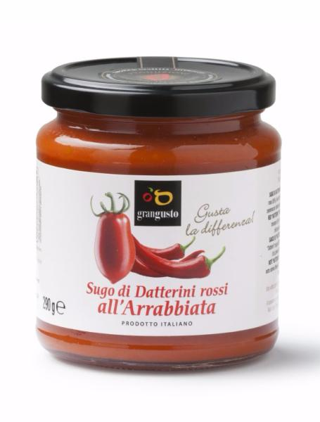 Sauce tomate rouge Datterino all'arrabbiata 290 gr