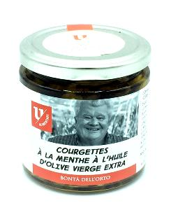 Courgettes menthe/huile d'olive 220 gr