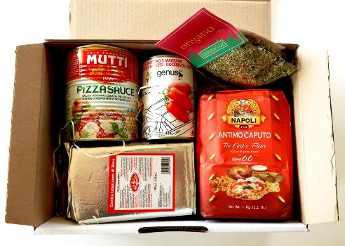 "Coffret gourmand ""Gusto di Pizza"""