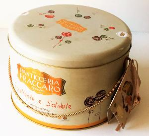 Panettone agrumes/dattes/vanille Slow Food 1 kg