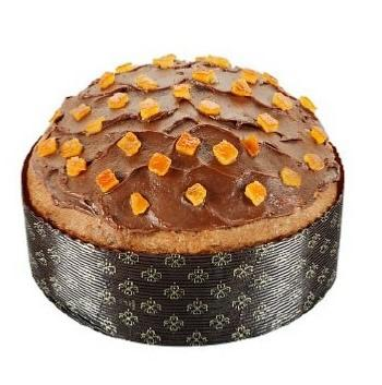 Panettone fourré chocolat et orange 500 gr