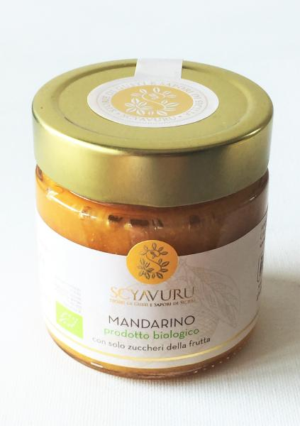 confiture de mandarine de sicile bio 250 gr gusto d 39 italia. Black Bedroom Furniture Sets. Home Design Ideas